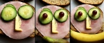 Tri Sandwich Faces by G. Russell